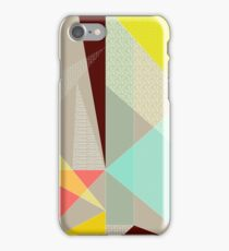 Diagonal Patterns iPhone Case/Skin