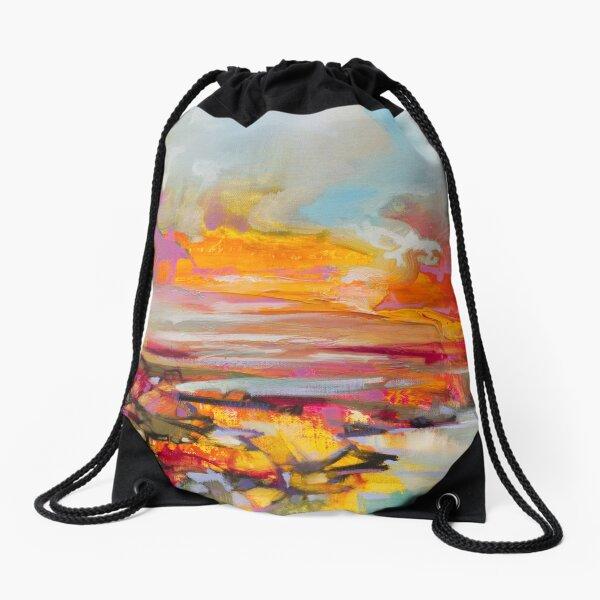Uist Causeways Drawstring Bag