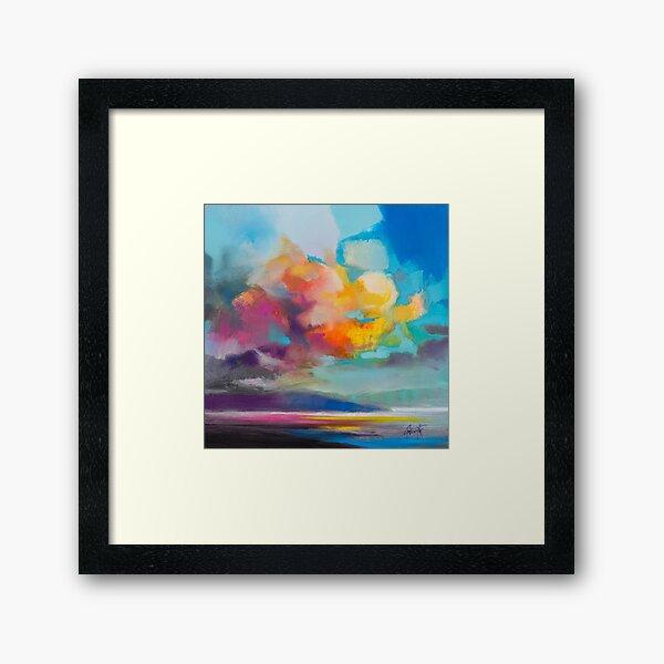 Vapour Framed Art Print