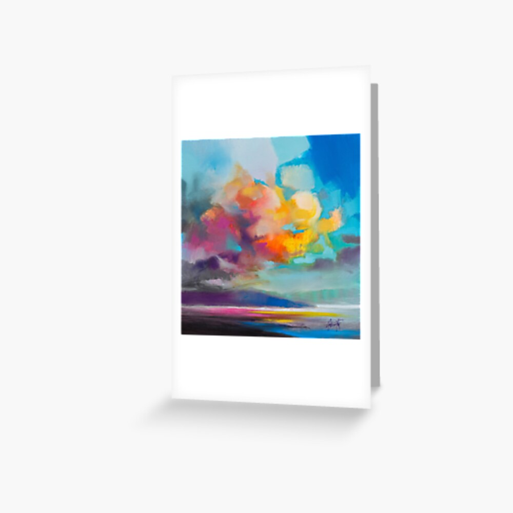 Vapour Greeting Card