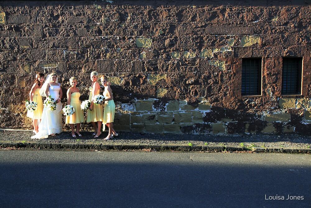 the wall by Louisa Jones