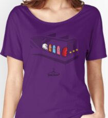 Pac Man's New Strategy Women's Relaxed Fit T-Shirt