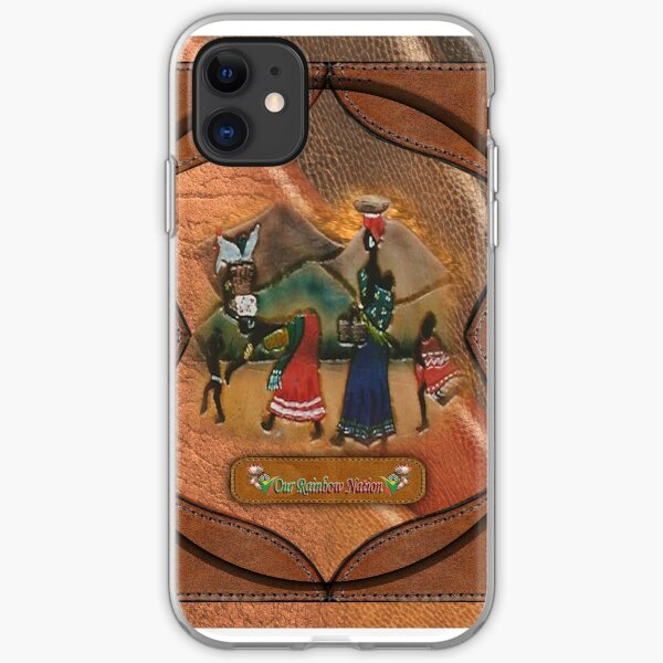 African Art & Leather crafts iPhone Soft Case