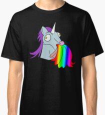 Unicorn Vomiting Rainbow Classic T-Shirt