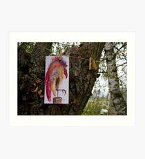 """""""Mr. Bird"""" - exhibition Art Print"""