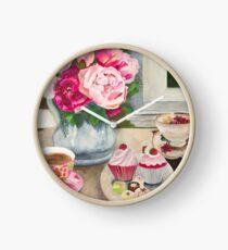 Grandma's Teacup and Wattlebird Clock