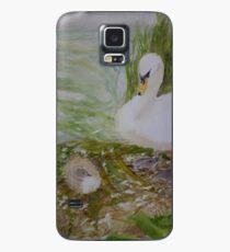 Swan and Cygnet Case/Skin for Samsung Galaxy
