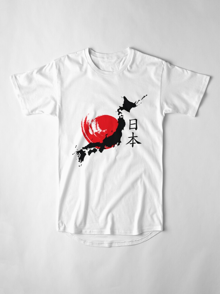 Alternative Ansicht von Japan Longshirt