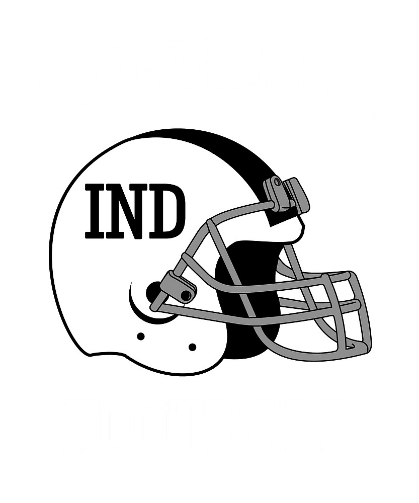 Indianapolis Football T-Shirt for Men and Women by AllStarMerch