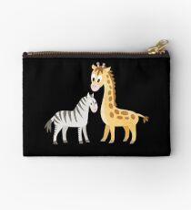 Zebra und Giraffe Studio Clutch