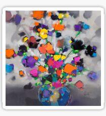 Floral Spectrum 1 Sticker