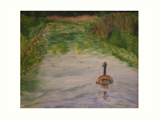 Lonely Goose by Peter Lythgoe