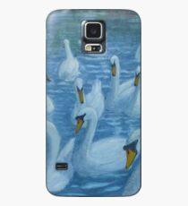 River Nene Swans Case/Skin for Samsung Galaxy
