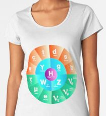 The Standard Model of Particle Physics Women's Premium T-Shirt