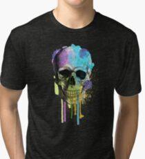 skull 6 Tri-blend T-Shirt