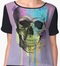 skull 6 Women's Chiffon Top