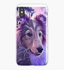 Shetland Sheepdog Puppy iPhone Case/Skin