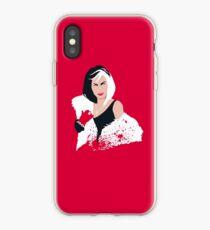 People always underestimate a girl in diamonds and furs (Cruella De Vil) iPhone Case