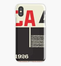 Constructivism#1 iPhone Case/Skin