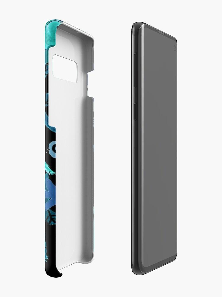 Vista alternativa de Funda y vinilo para Samsung Galaxy LEAVES
