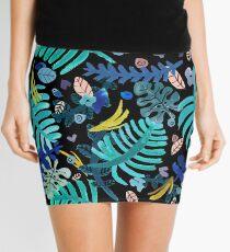 LEAVES Minifalda