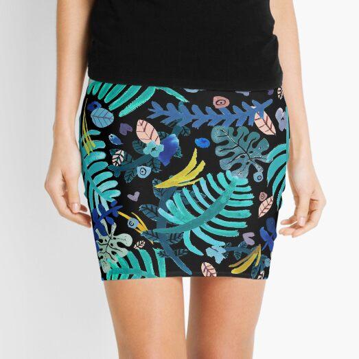 LEAVES Mini Skirt
