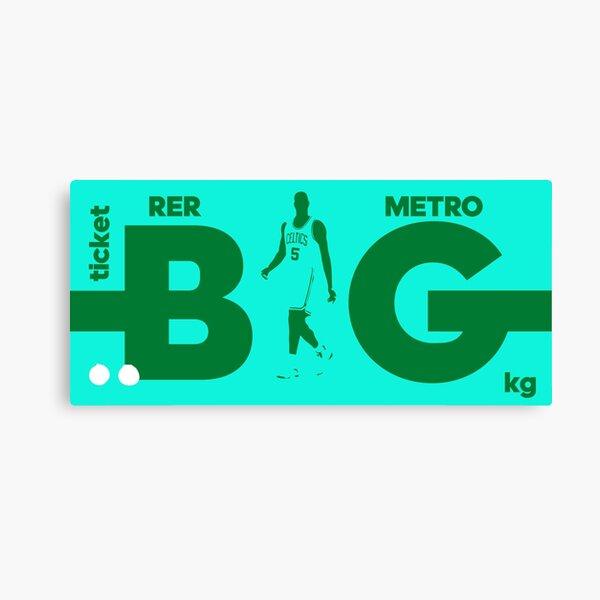 Kevin Garnett: The Big Ticket Canvas Print