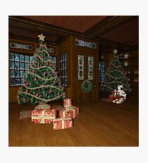 Christmas Toys Photographic Print