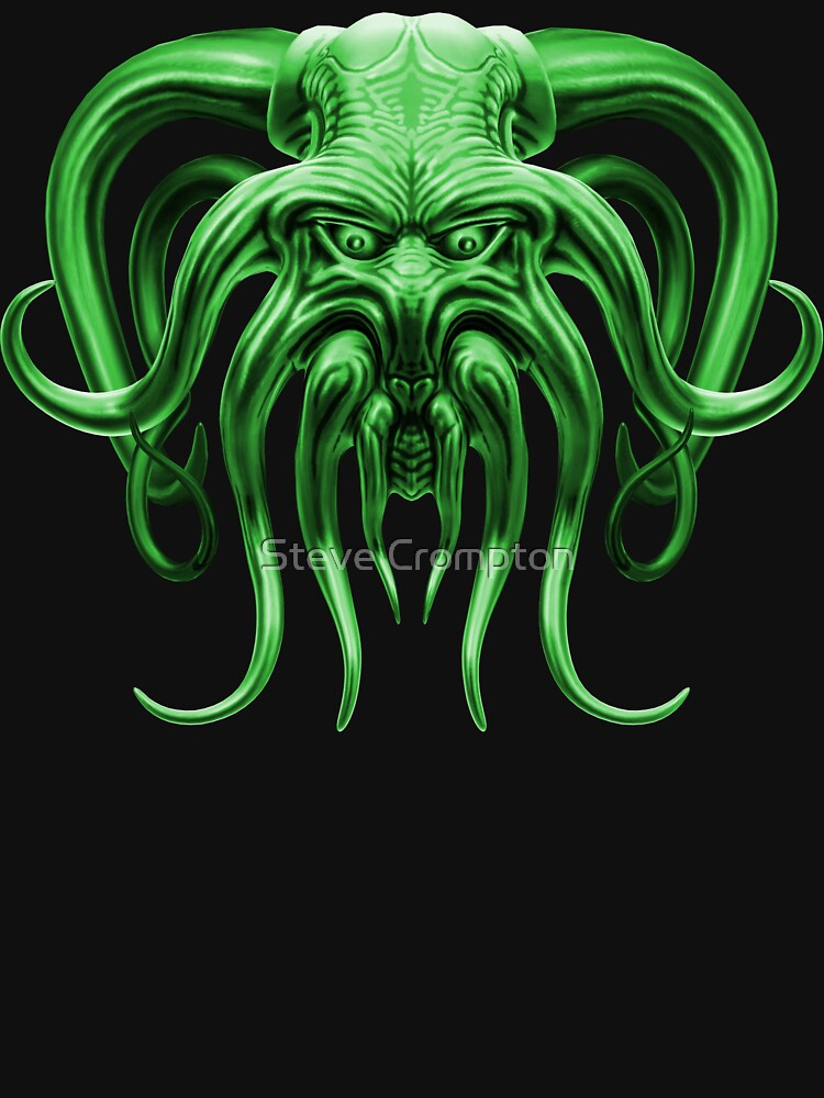 Cthulhu in Green by SC001