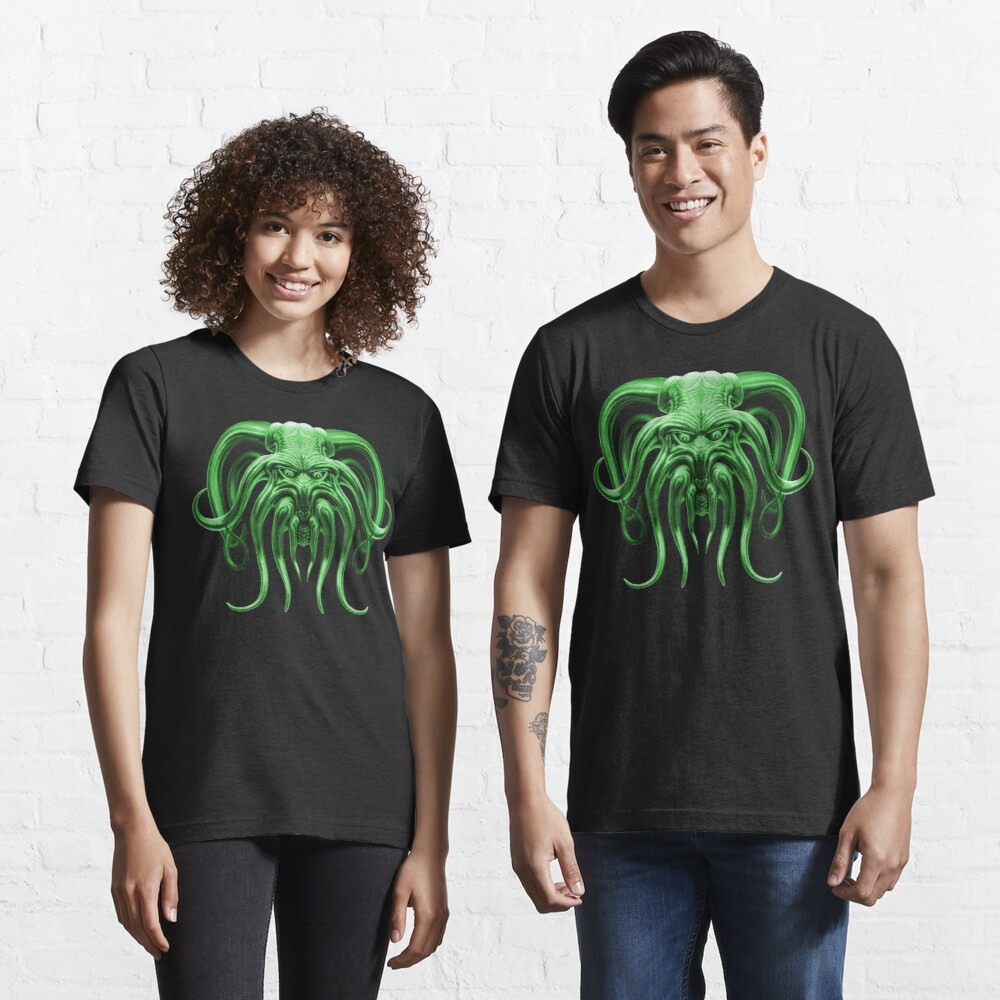 Cthulhu in Green Essential T-Shirt
