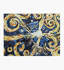 Doctor Who - Wibbly Wobbly Photographic Print
