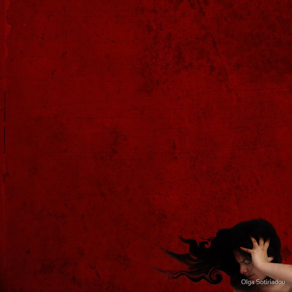 Pain Is Red by Olga Sotiriadou