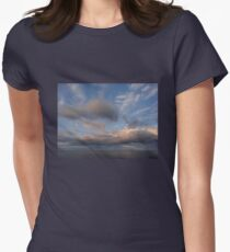 Chasing Clouds  Women's Fitted T-Shirt