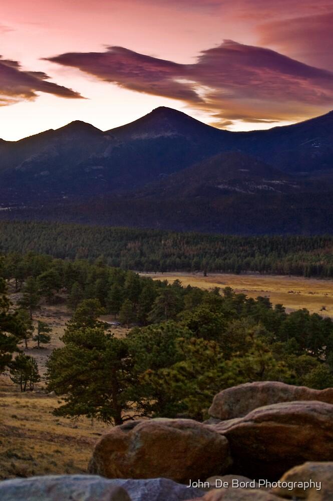 Sunrise At Upper Beaver Meadows by John  De Bord Photography
