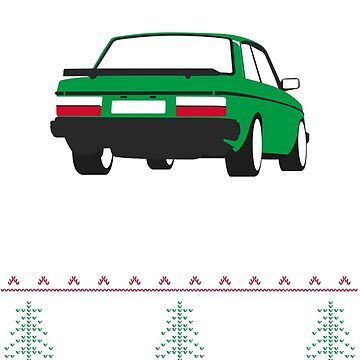 Volvo 240 Turbo Christmass Sweater by Rtgrplgt