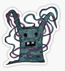 Blue Monster Sticker