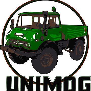 Unimog Green by Groenendijk