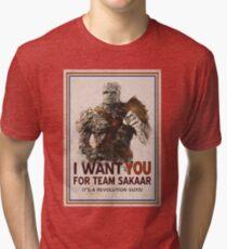 Trete der Revolution bei! Vintage T-Shirt