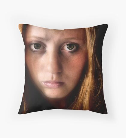 What you dont see Throw Pillow