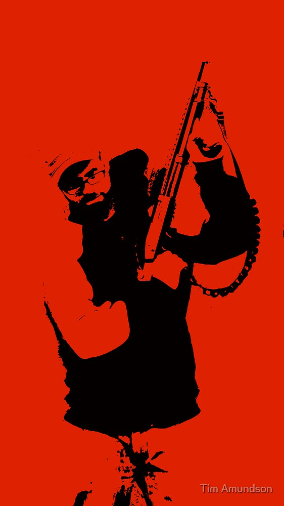 Pistol grip by Tim Amundson