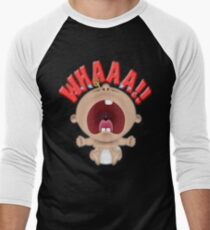 WHAAA Men's Baseball ¾ T-Shirt