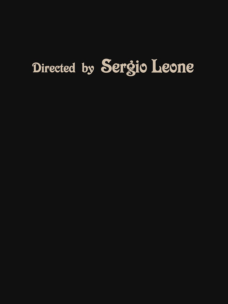 Once Upon a Time in America | Directed by Sergio Leone by directees