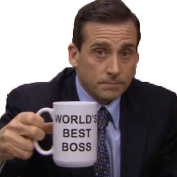 la oficina michael scott mejor jefe del mundo de electricgal