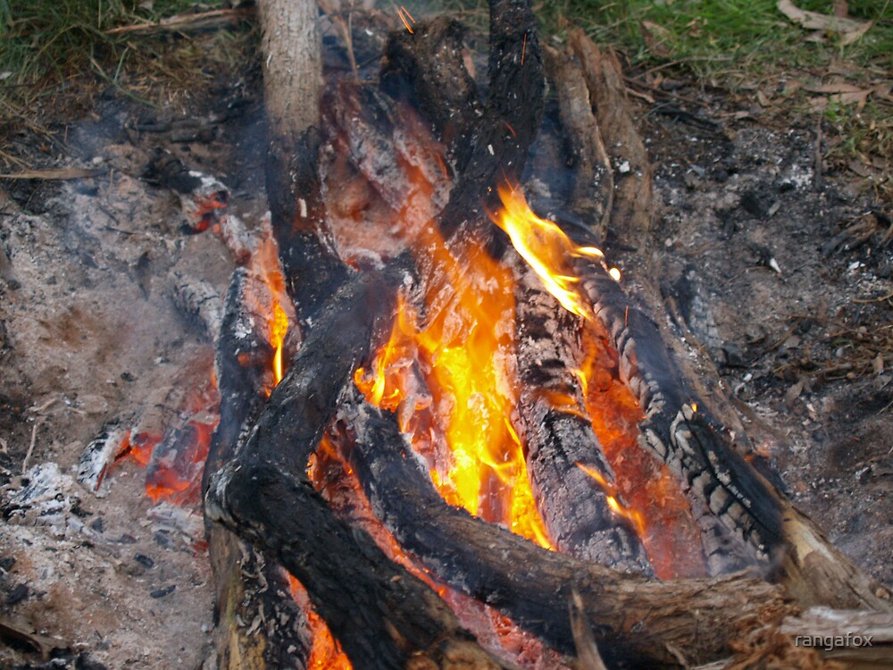 Flame by rangafox
