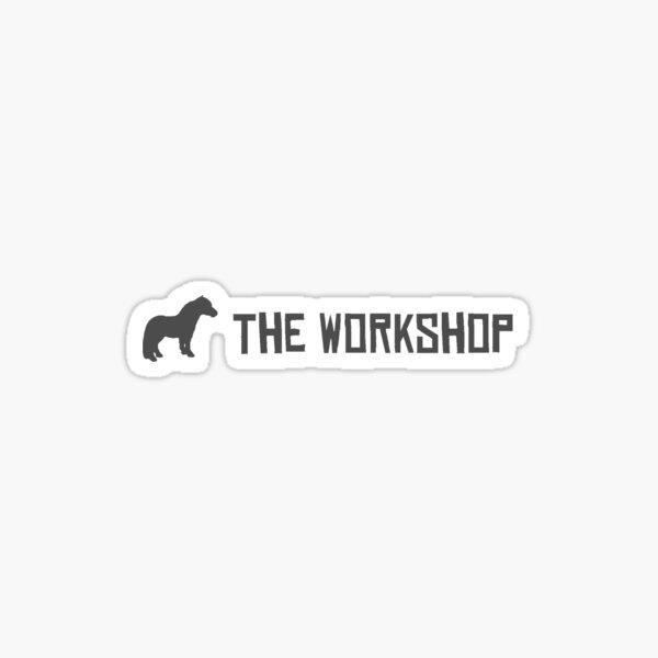 The workshop banner Sticker