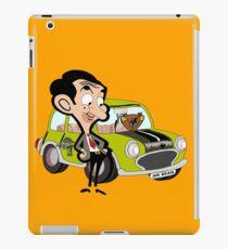 mr. bean - green car iPad Case/Skin