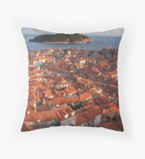 Dubrovnik Throw Pillow