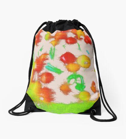 Fruit light mix Drawstring Bag