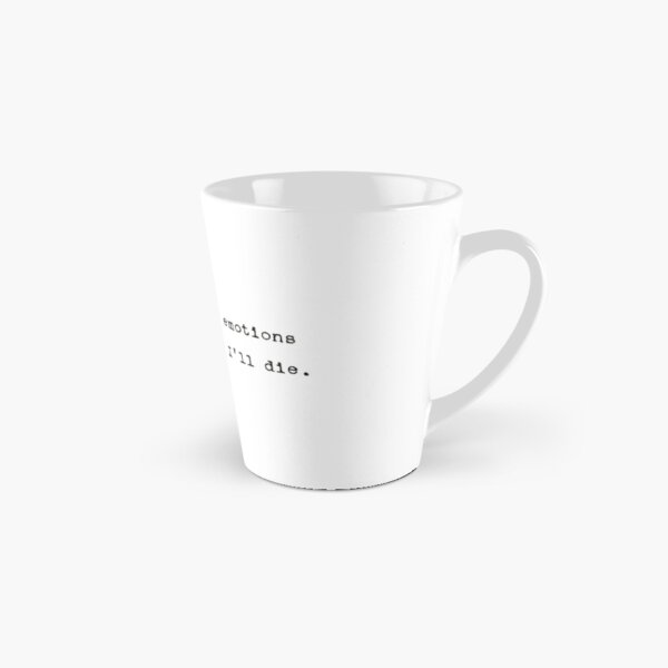 John Mulaney Emotions Quote Tall Mug