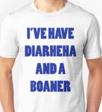 Diarheha and a Boaner Unisex T-Shirt